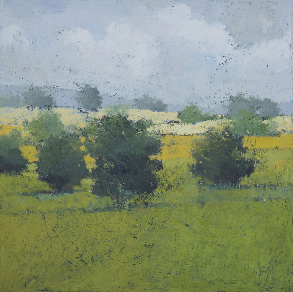 Mid-Summer-Sketch-30x30-oil-on-Canvas